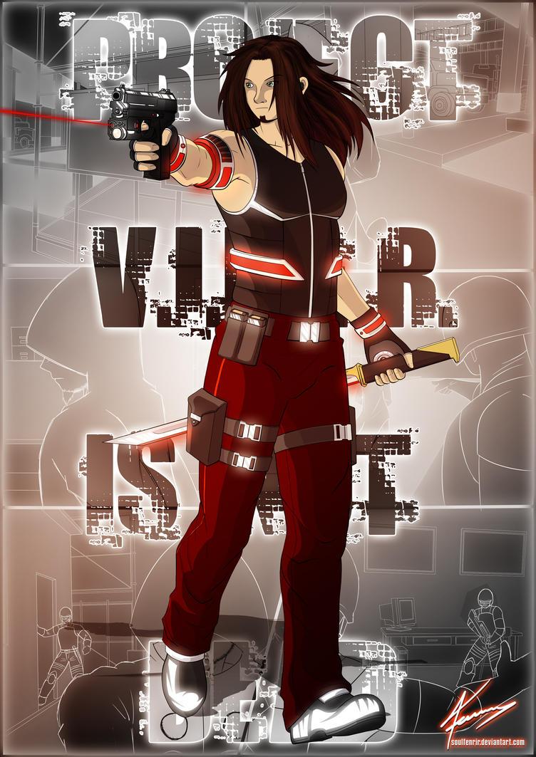 Red Viper - Project 'V.I.P.E.R.' Concept by soulfenrir