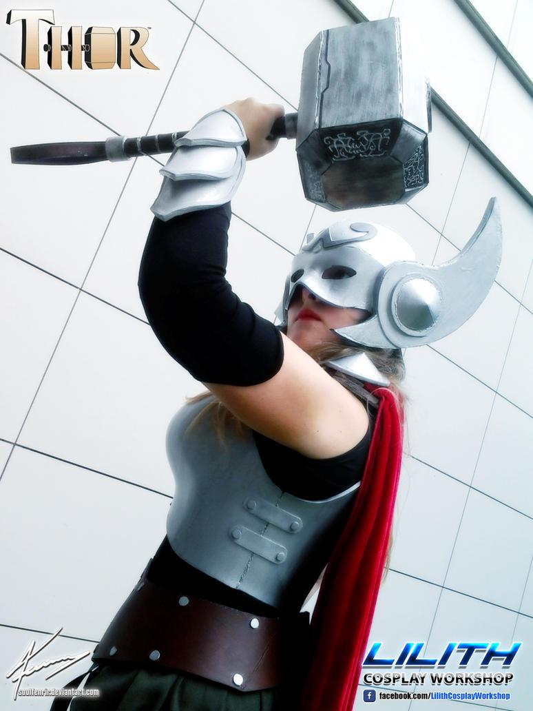 Thor Cosplay - Expotaku 2015 (11) by soulfenrir
