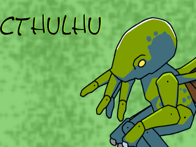 scribblenauts Cthulhu Wallpaper by fogzyloopz on DeviantArt