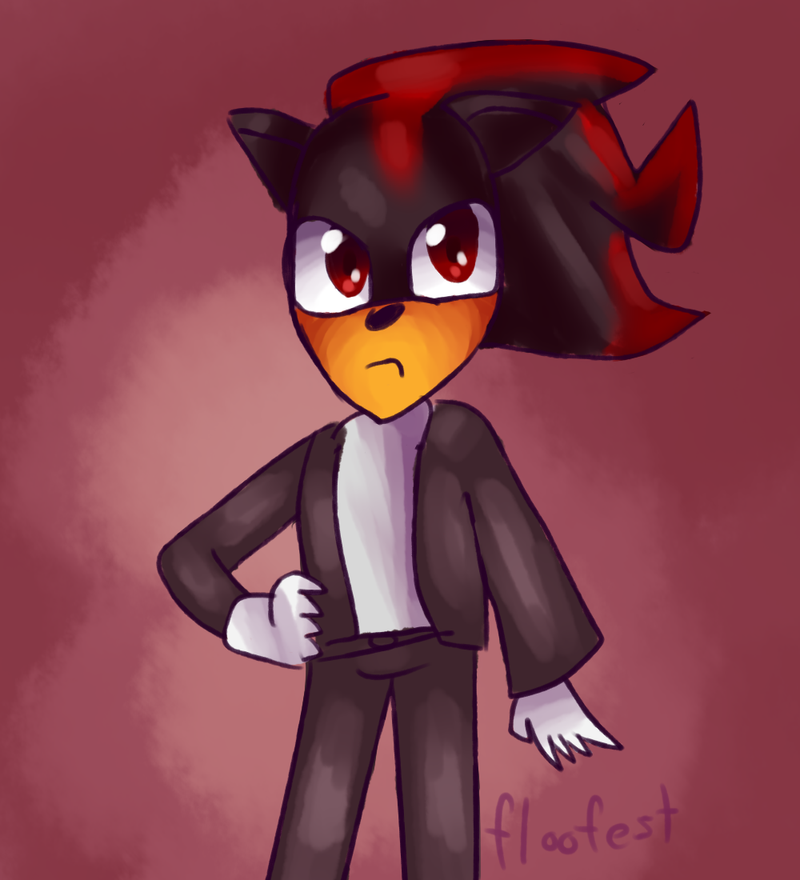 Shadow In Clothes by floofest