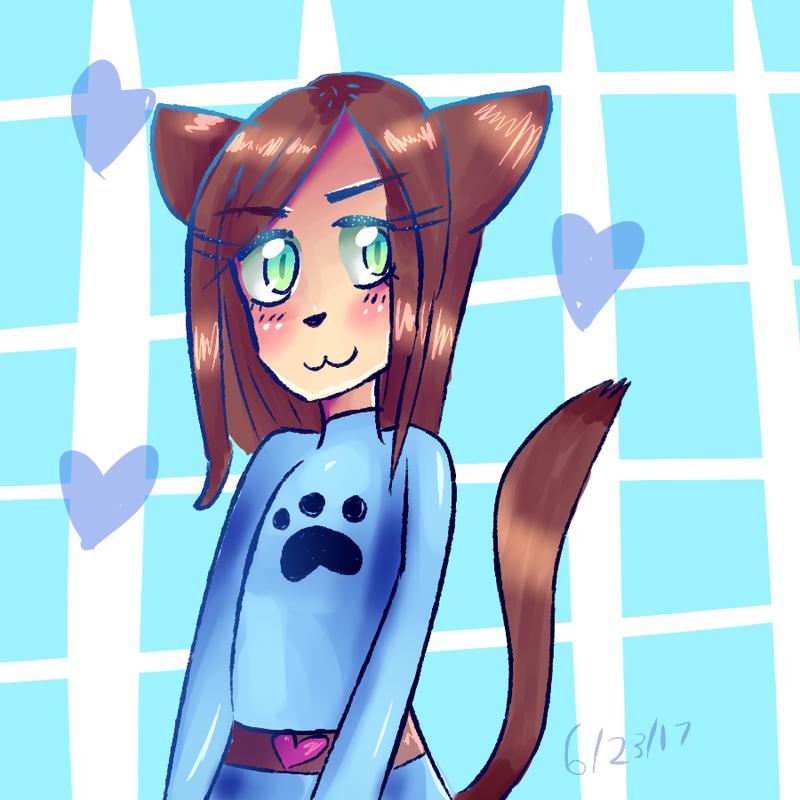 Cat Girl by floofest