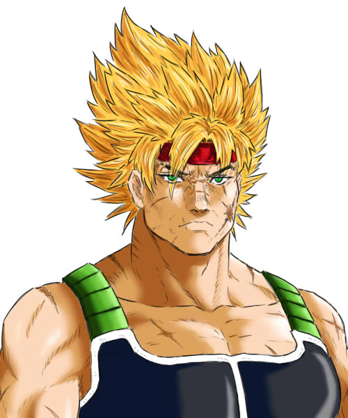 Super Saiyan of Legend (color ver.) by eys123
