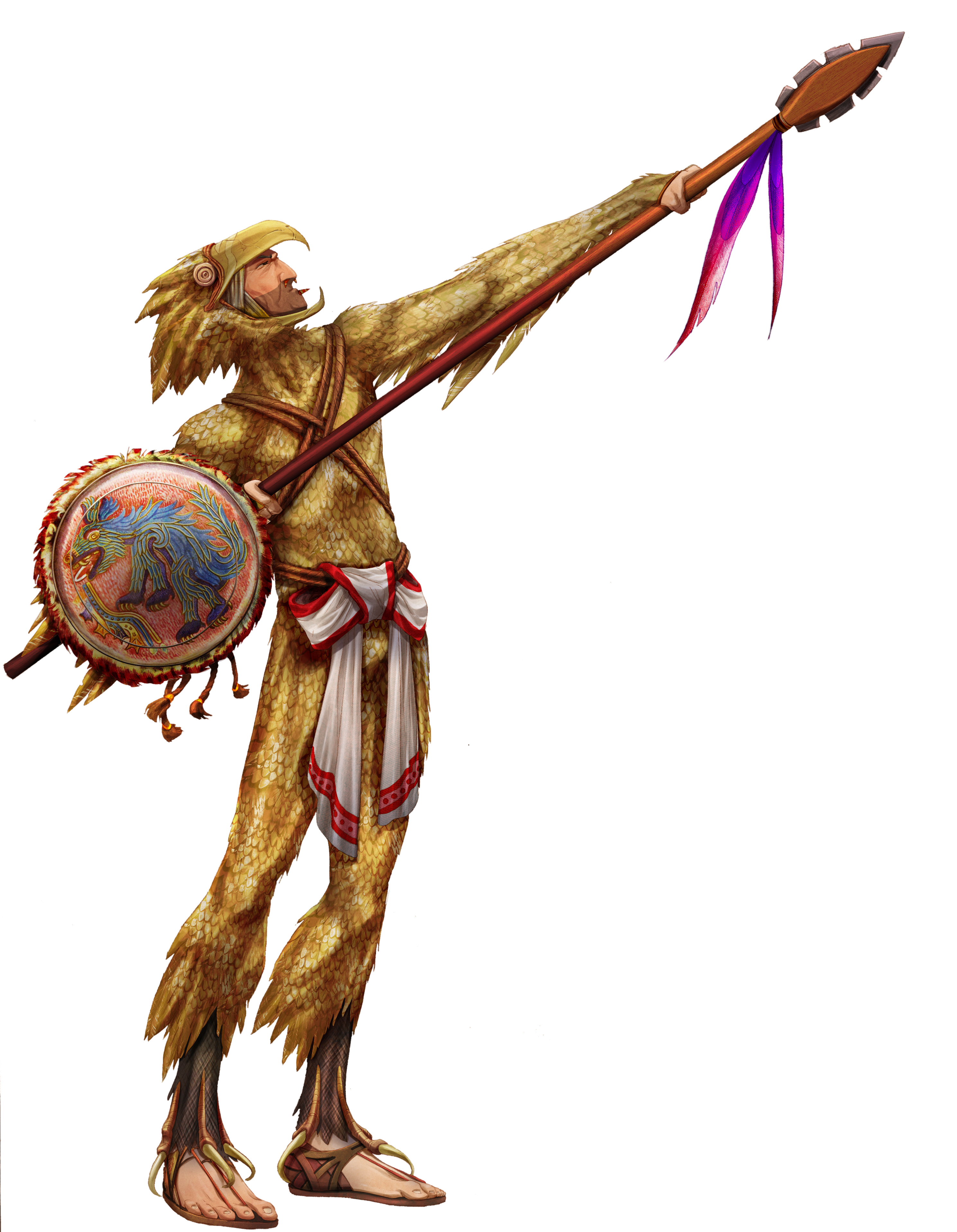 Eagle warrior - Jack Farrell by Jangelles