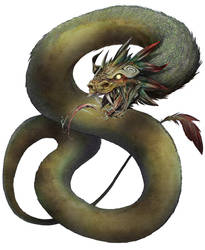 Quetzalcoatl - Jack Farrell by Jangelles