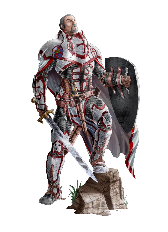 Jean Knight Templar - JF by Jangelles
