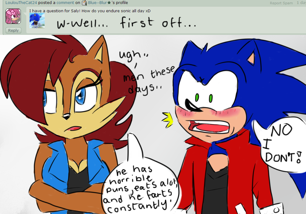 Ask Sonic Sally 6 By Mightymorg On Deviantart