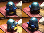 Custom Amiibo - Blue Sparkly Kirby