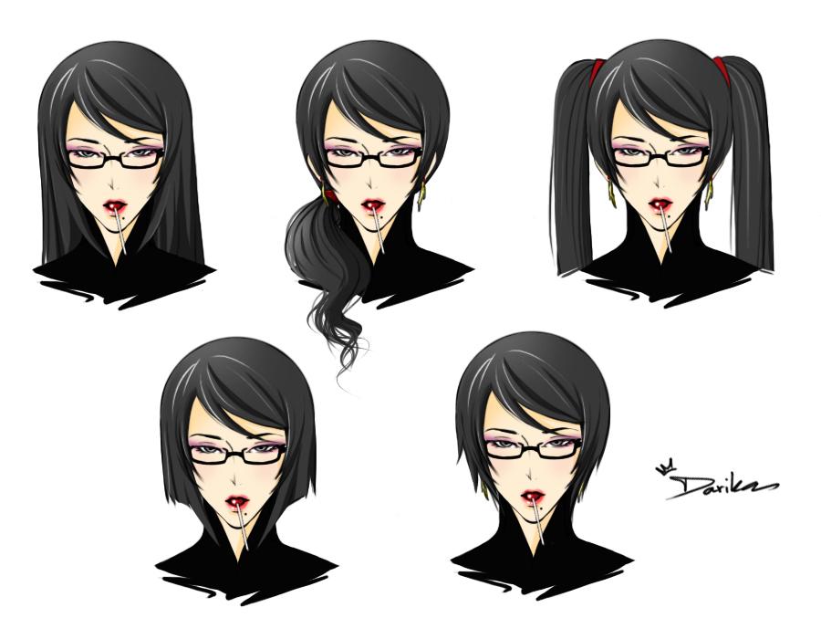 bayonetta_new_hairstyle_1_by_darikaart-d