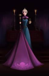 Elsa's coronation [Frozen]