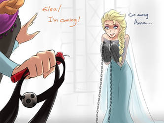 Coming to help you! [Frozen] by DarikaArt