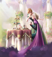 Chocolate time - After story [Frozen] by DarikaArt