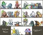 Warframe x Pokemon