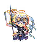 Chibi Joan Of Arc [FateGO]