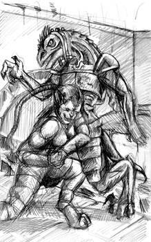 Bull Rush the Mummy