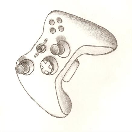 xbox 360 controller sketch - photo #29