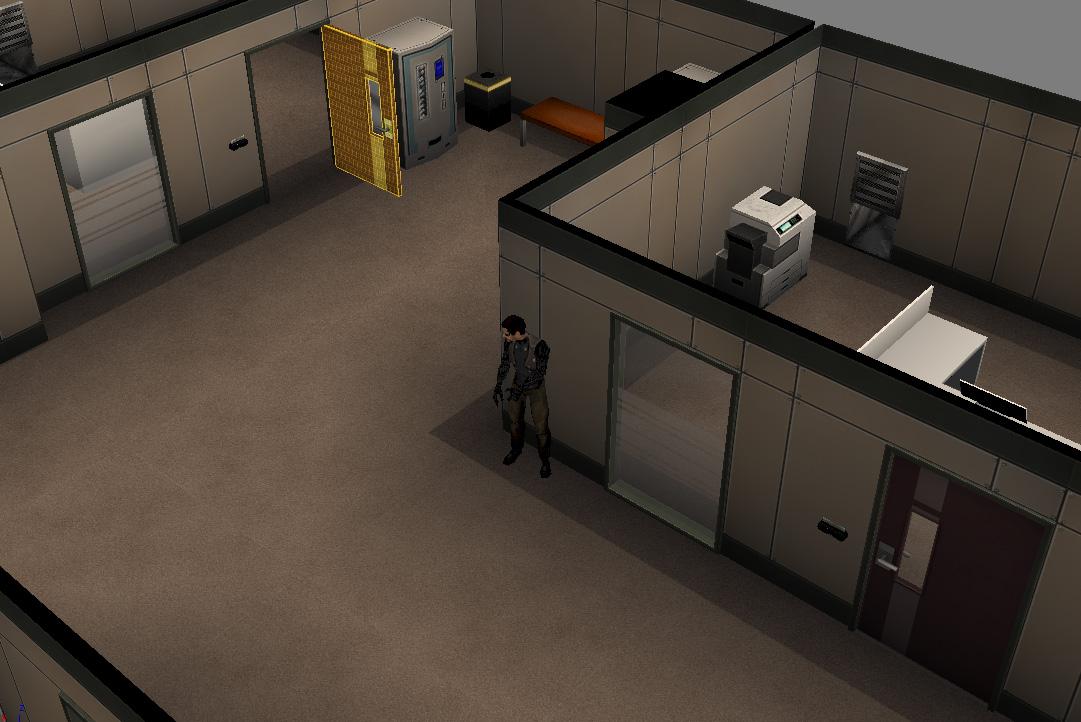 Deus Ex Mobile WIP by CaptainPixel
