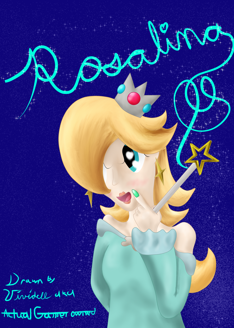 REdraw Rosalina. by Actualgamerowned