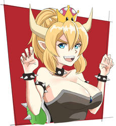 More Bowsette! by MysteryAsian123