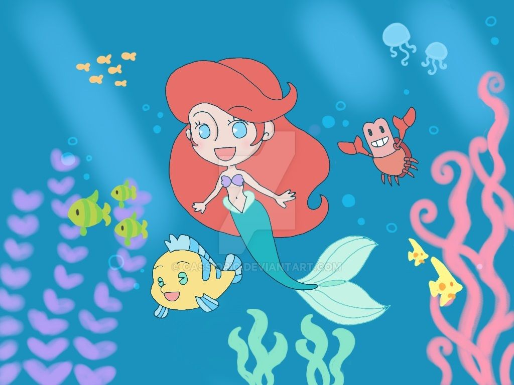 The Little Mermaid by cassiopio