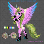 [OPEN]Adopt Pony Discord+Fluttershy Ship Child by Ashdei-Adopts