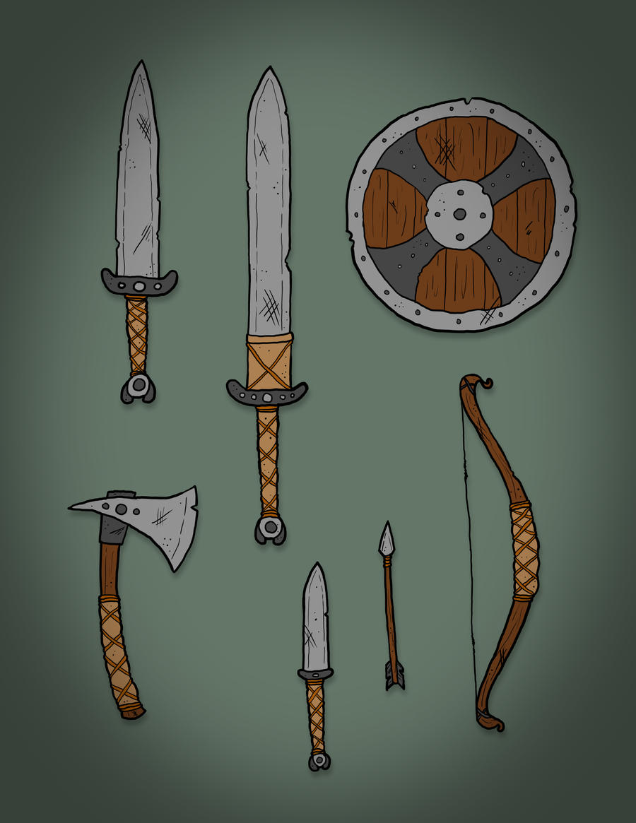 Dwom Weapons - Project Hades OCT by JuanitoBandito on DeviantArt