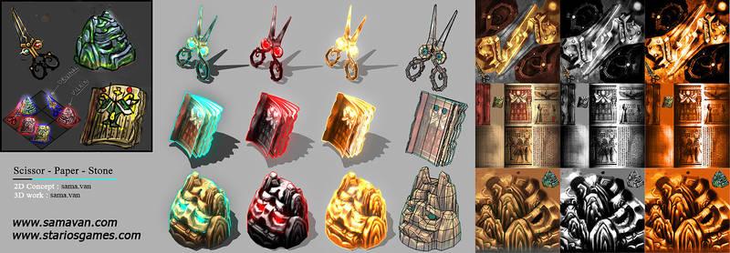 Rock-a-Tac : Characters