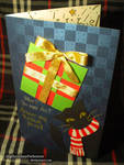 Holiday Card from Chat Noir (Cover, Photo Version)