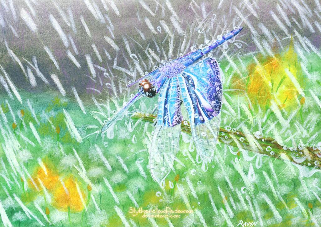 Soaking In the Rain by SlytherclawPadawan