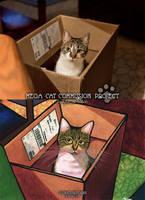 Mega Cat Commission Project sample-FAK-2 by SlytherclawPadawan