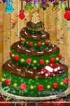 Christmas Road Trip Cake