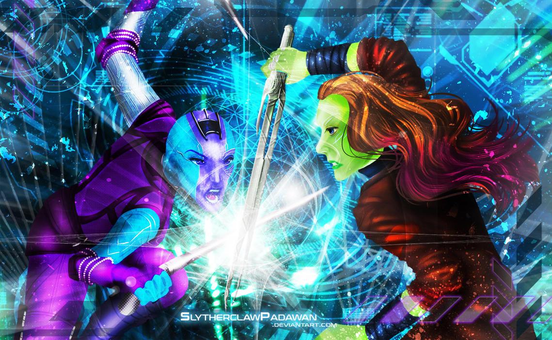 Sisters' Battle v.1 by SlytherclawPadawan