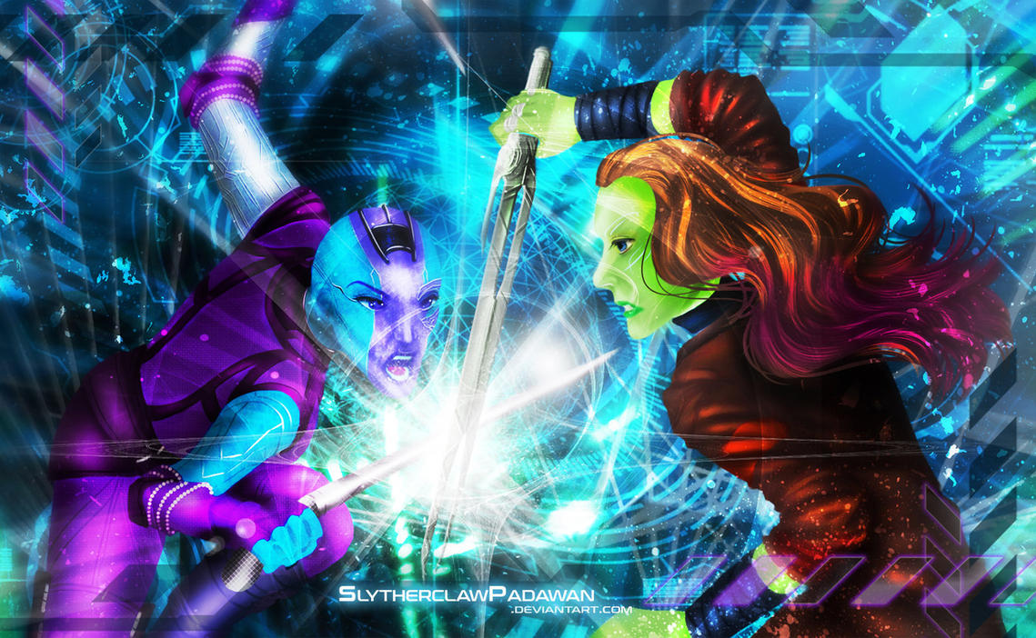 Sisters' Battle v.2 by SlytherclawPadawan