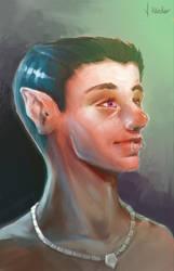 Elf portrait by JanKaercher