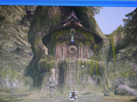 My Zelda fan game screen WIP