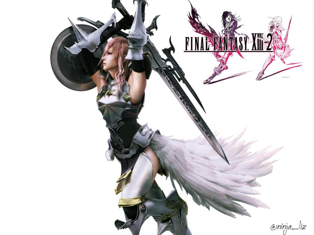 final fantasy xiii-2 wallpaper: lightning farronlizchanx on