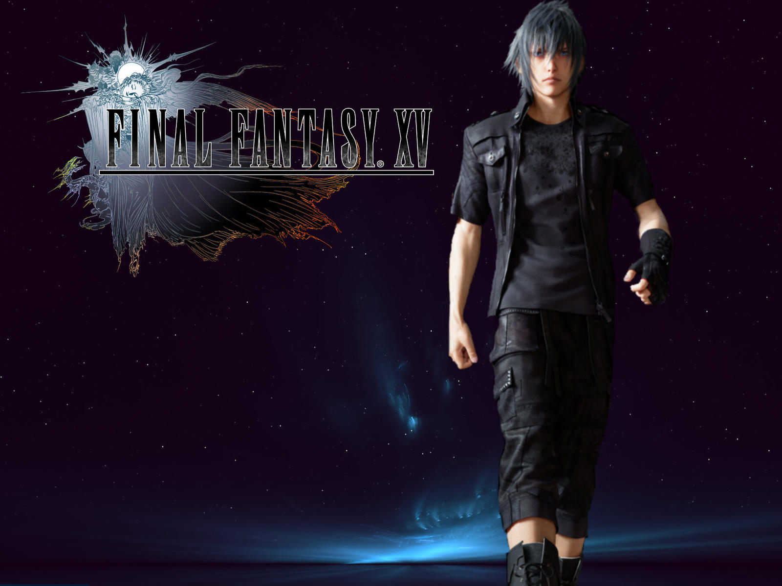 Noctis Final Fantasy XV Wallpaper By LizChanX