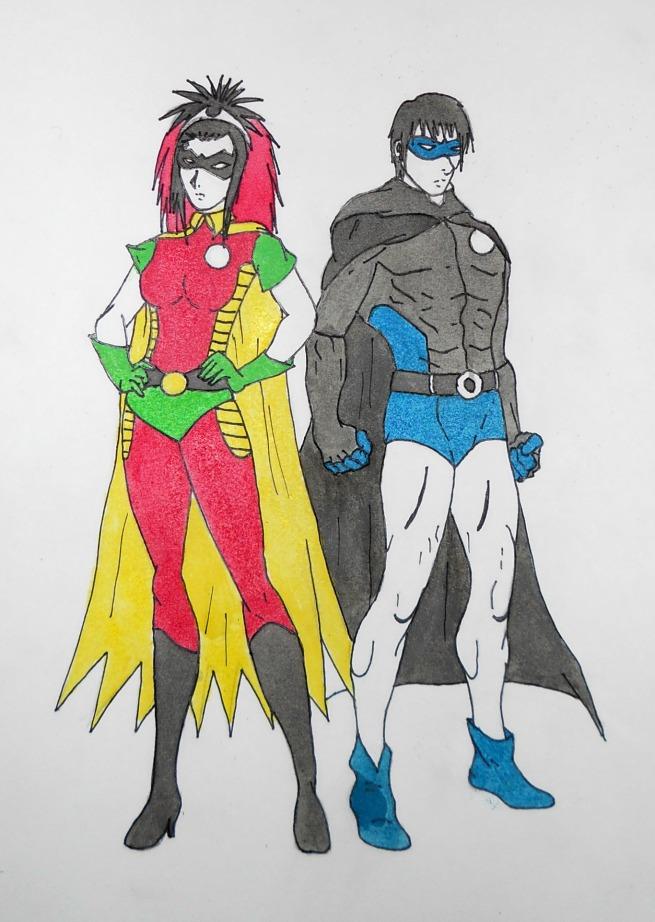Colored heroes ! by ED-Boy-wonder-1718