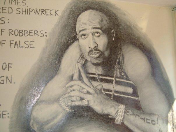 Tupac Shakur by ZenBenZen