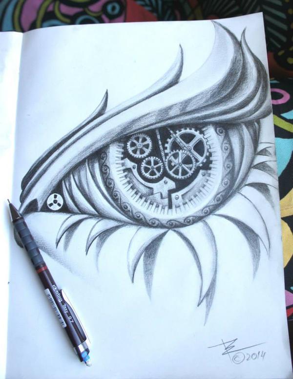Eye by ZenBenZen