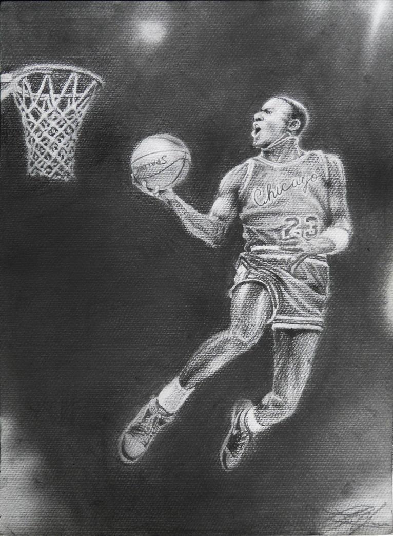 Michael Jordan by ZenBenZen