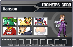 Pokemon Battle Saga Registeration Application by BakaZick