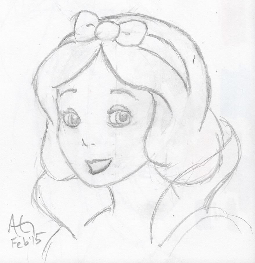 Snow White Sketch