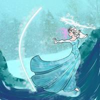 Battle Elsa by NinjaObsessed
