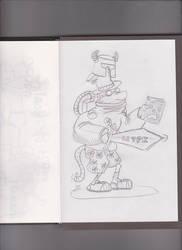 Colfax Adventures Sketch by NinjaObsessed