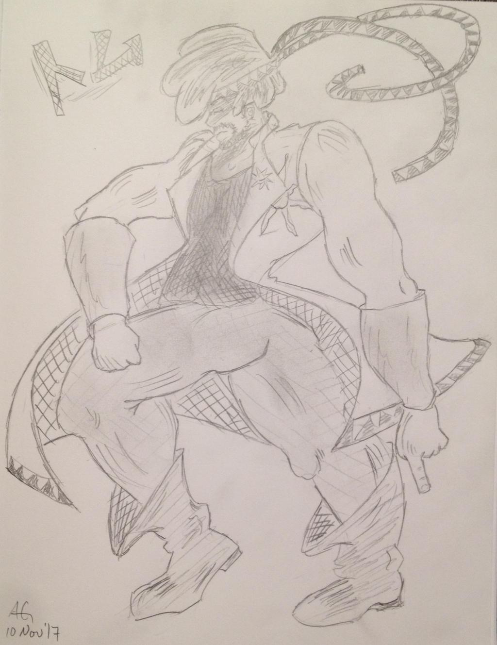 Jojo OC: Tomu by NinjaObsessed