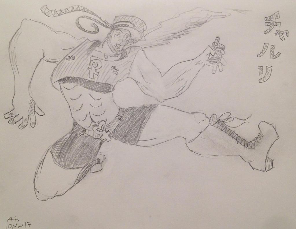 Jojo OC: Charuri by NinjaObsessed