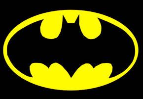 Batman symbol by mcrweirdo