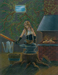 Her Finest Blade by JudithMayr