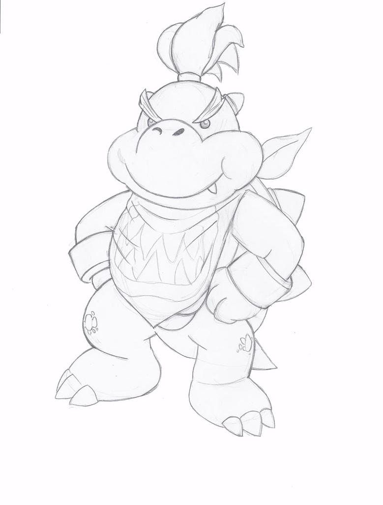 bowser jr by plumhairedgria on deviantart