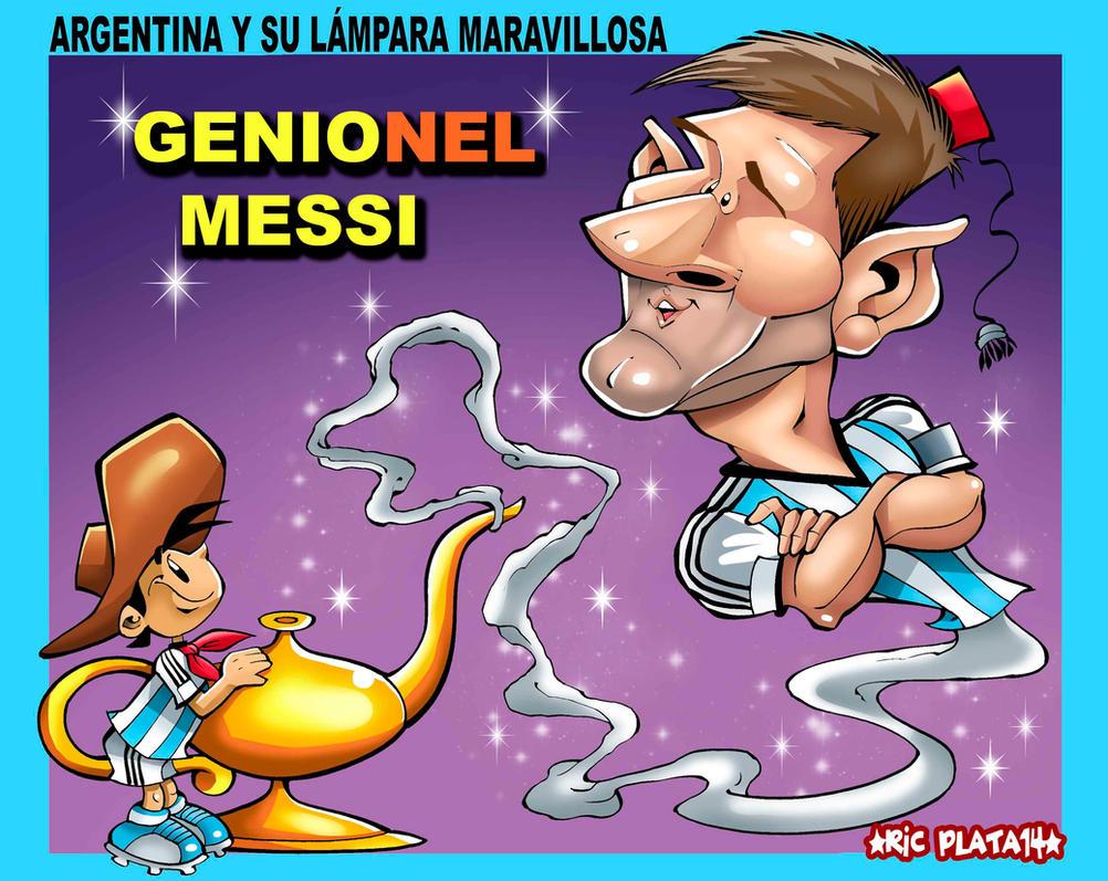 GENIONEL MESSI by ricplata